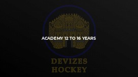 Academy 12 to 16 years