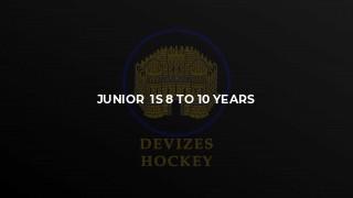 Junior  1s 8 to 10 years