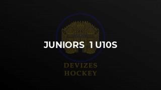 Juniors  1 U10s