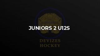 Juniors 2 U12s