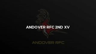 Andover 2nd XV vs Trojans 2nd XV
