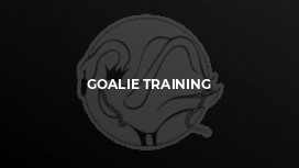 Goalie training