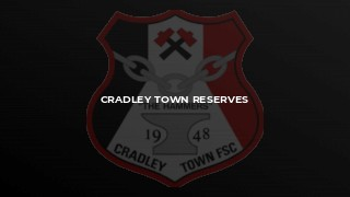 Cradley Town Reserves