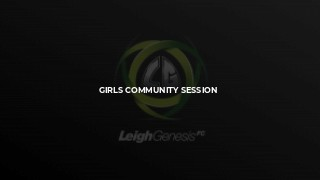 Girls Community Session