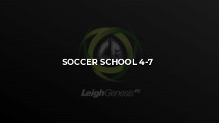 Soccer School 4-7