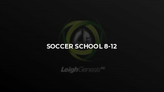Soccer School 8-12