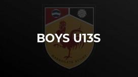 Boys u13s