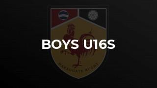 Boys u16s
