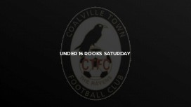 Under 16 Rooks Saturday
