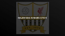 Halewood Juniors 6 to 9