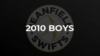 2010 Boys