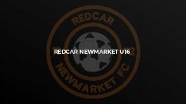 Redcar Newmarket U16
