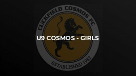 U9 Cosmos - girls