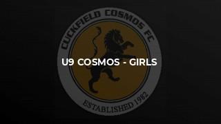 U9 Cosmos - girls