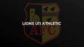 Lions U11 Athletic