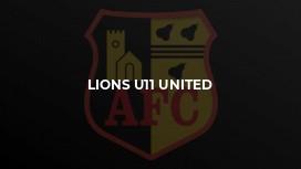 Lions U11 United