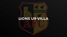 Lions U9 Villa