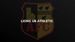 Lions U8 Athletic