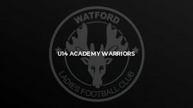 U14 Academy Warriors