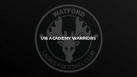 U16 Academy Warriors