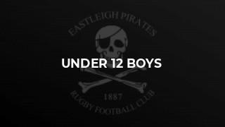 Under 12 Boys