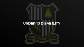 Under 13 Disability