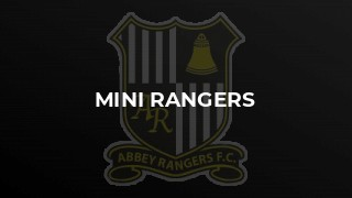 Mini Rangers