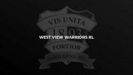 West View Warriors RL