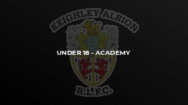 Under 18 - Academy