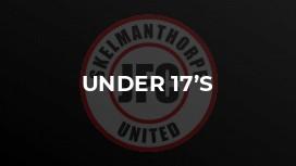 Under 17's