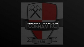 Cobham U13  Girls Falcons