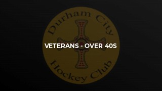 Veterans - Over 40s