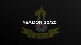 Yeadon 20/20