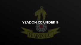 Yeadon CC Under 9