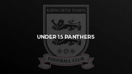 Under 15 Panthers