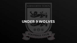 Under 9 Wolves