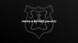 Under 16 Rovers (2004/05)