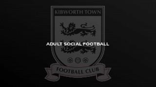 Adult Social Football