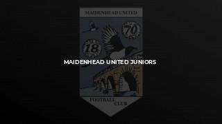 Maidenhead United Juniors