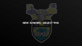 New Juniors - select this