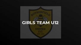 Girls team U12