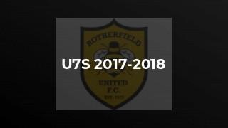 U7s 2017-2018