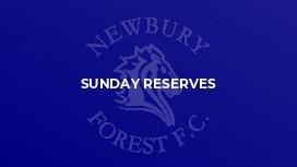 Sunday Reserves