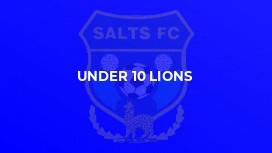 Under 10 Lions