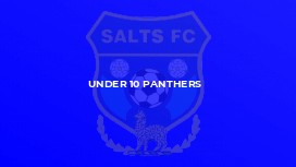 Under 10 Panthers