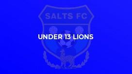 Under 13 Lions