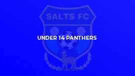 Under 14 Panthers