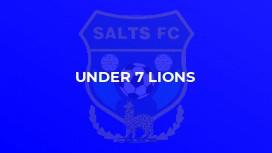 Under 7 Lions