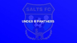 Under 8 Panthers