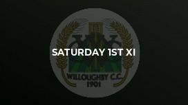 Saturday 1st XI
